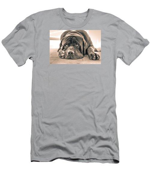 Floyd Men's T-Shirt (Slim Fit) by Racheal Christian