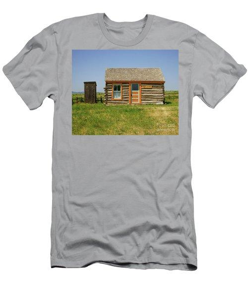 Flueitt Simons Cabin Men's T-Shirt (Athletic Fit)