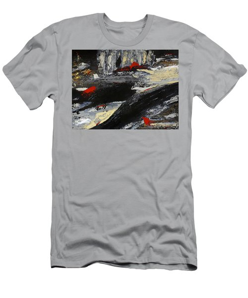 Flume 2 Men's T-Shirt (Slim Fit) by Dick Bourgault