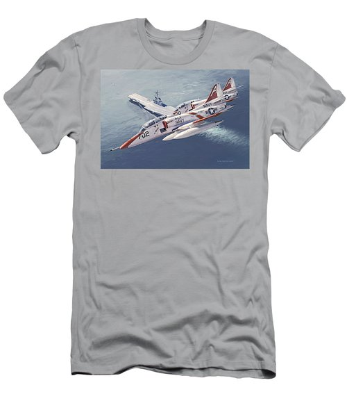 Fly Navy Men's T-Shirt (Athletic Fit)