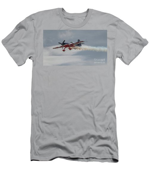 Flying Acrobatic Plane Men's T-Shirt (Athletic Fit)