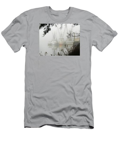 Men's T-Shirt (Slim Fit) featuring the photograph Fogged In by Deborah Smith