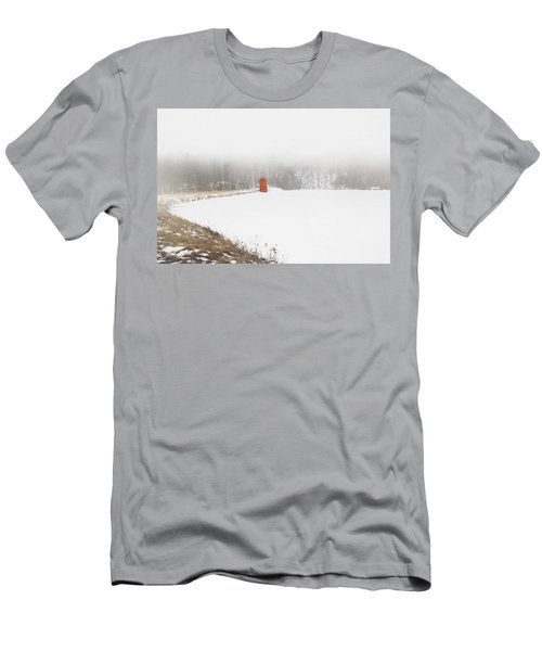 Men's T-Shirt (Athletic Fit) featuring the digital art Fogged In by Sue Collura