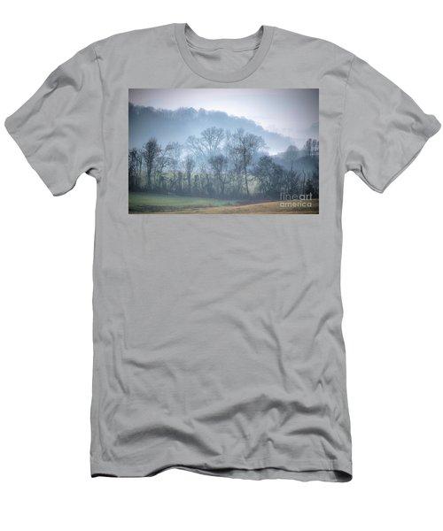 Foggy Hills Men's T-Shirt (Athletic Fit)