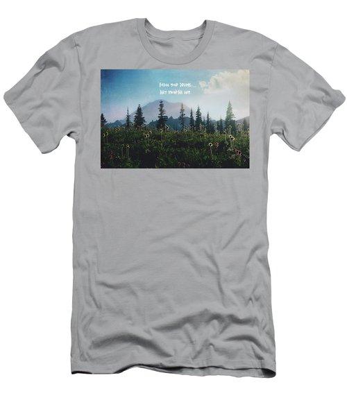 Follow Your Dreams Men's T-Shirt (Athletic Fit)