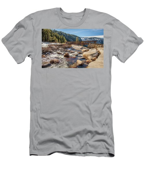 Following The Falls Men's T-Shirt (Athletic Fit)