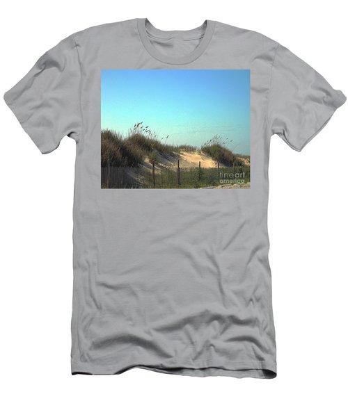 Folly Beach Sc Dunes Men's T-Shirt (Athletic Fit)