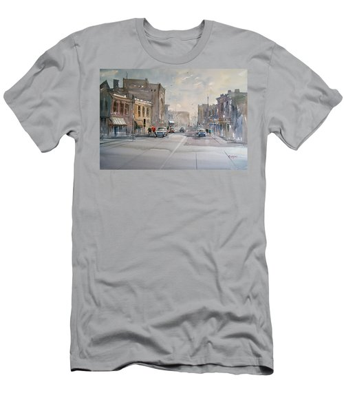 Fond Du Lac - Main Street Men's T-Shirt (Athletic Fit)