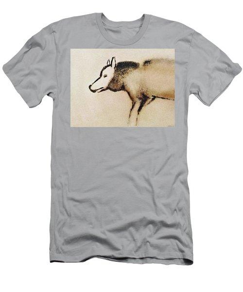 Font De Gaume Wolf Men's T-Shirt (Athletic Fit)