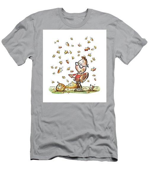 Football Hero Men's T-Shirt (Athletic Fit)