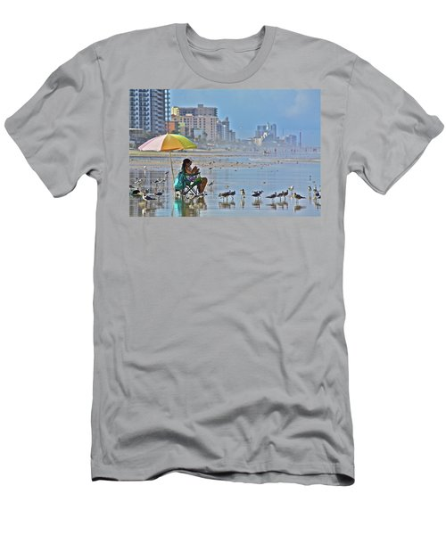 For The Birds Men's T-Shirt (Athletic Fit)