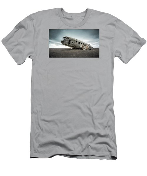 Forced Landing 2 Men's T-Shirt (Slim Fit) by Brad Grove