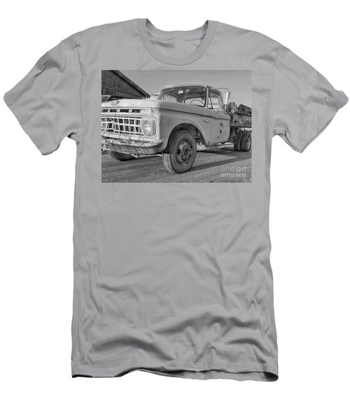 Ford F-150 Dump Truck Bw Men's T-Shirt (Athletic Fit)