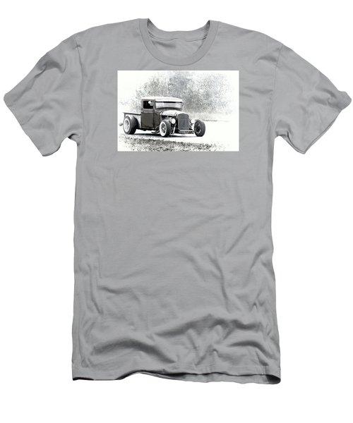 Ford Hot Rod Men's T-Shirt (Slim Fit) by Athena Mckinzie