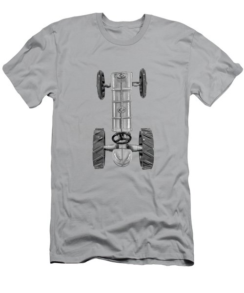 Fordson Tractor Top Bw Men's T-Shirt (Slim Fit) by YoPedro
