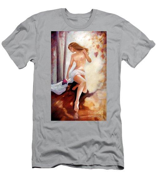 Forest Nymph  Men's T-Shirt (Slim Fit) by Michael Rock