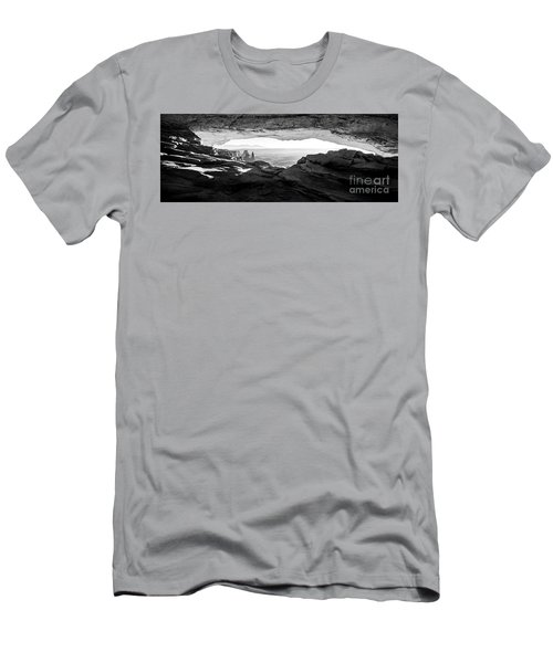 Men's T-Shirt (Slim Fit) featuring the photograph Forever View by Kristal Kraft
