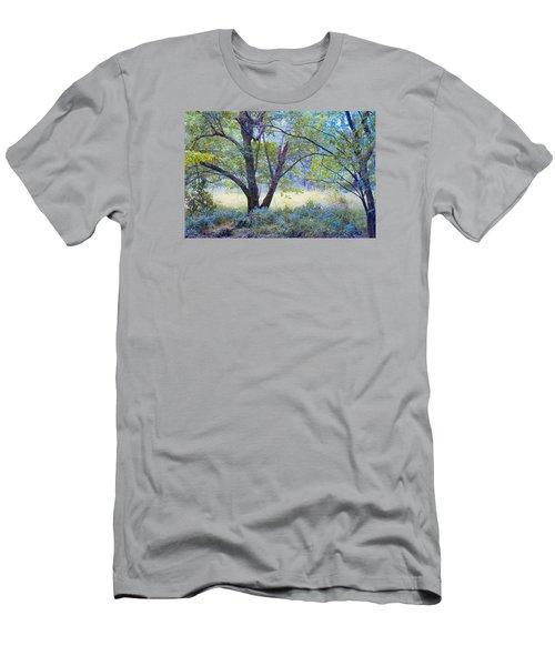 Forgotten Day Dreams Men's T-Shirt (Slim Fit) by John Rivera