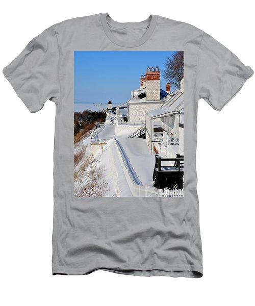 Fort Mackinac Profile Men's T-Shirt (Athletic Fit)