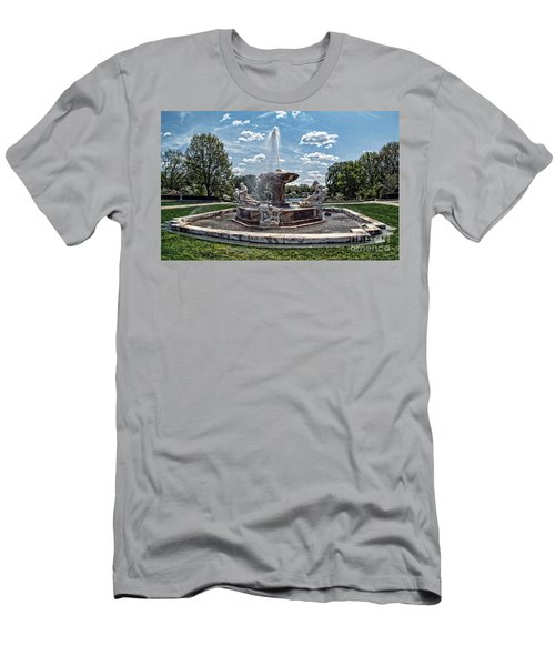 Fountain - Cleveland Museum Of Art Men's T-Shirt (Athletic Fit)