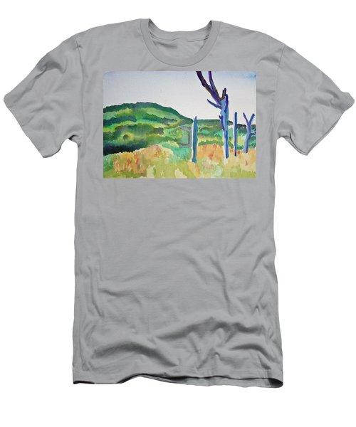 Four Dead Trees After Edward Hopper Men's T-Shirt (Athletic Fit)