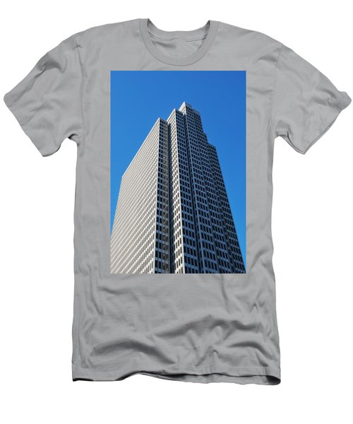 Four Embarcadero Center Office Building - San Francisco - Vertical View Men's T-Shirt (Slim Fit) by Matt Harang