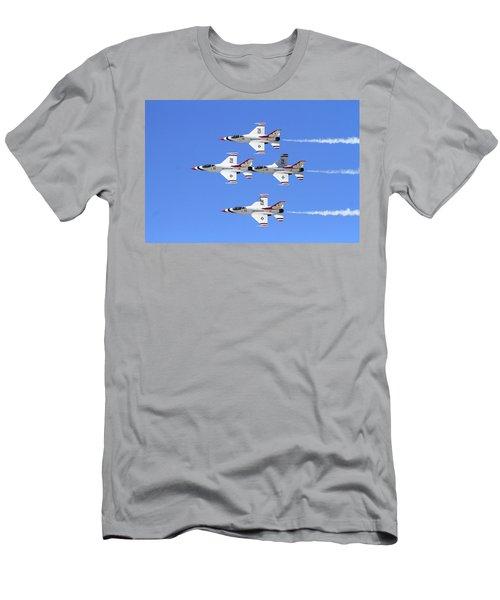 Four Mation Men's T-Shirt (Slim Fit) by Shoal Hollingsworth