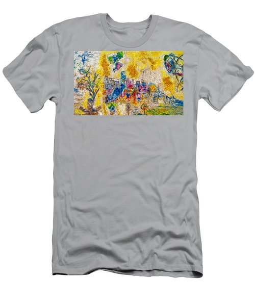 Four Seasons Chagall Men's T-Shirt (Athletic Fit)