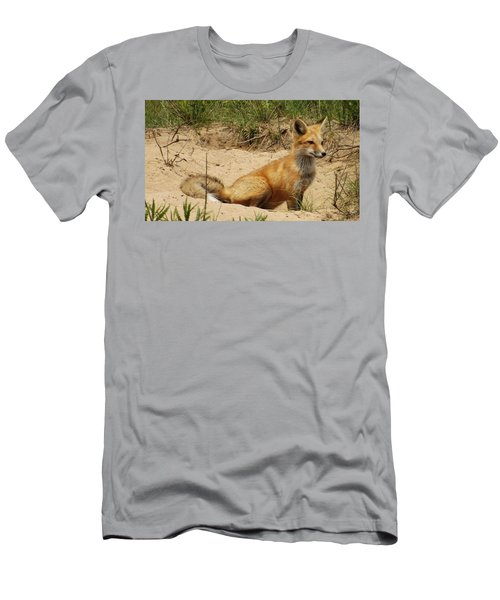 Fox In The Woods 2 Men's T-Shirt (Athletic Fit)