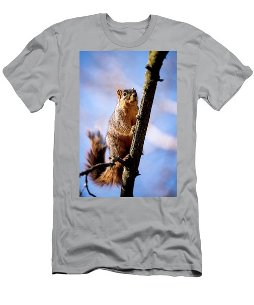 Fox Squirrel's Last Look Men's T-Shirt (Athletic Fit)