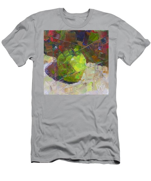 Fractured Granny Smith Men's T-Shirt (Slim Fit) by Susan Woodward