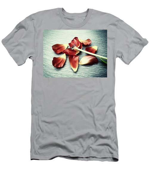 Fragile Men's T-Shirt (Slim Fit) by Karen Stahlros