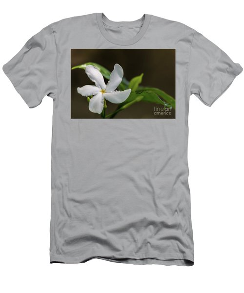 Frangipani Curves Men's T-Shirt (Athletic Fit)