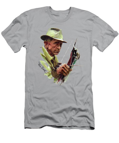 Fred Bear Archery Hunting Bow Arrow Sport Target Men's T-Shirt (Athletic Fit)