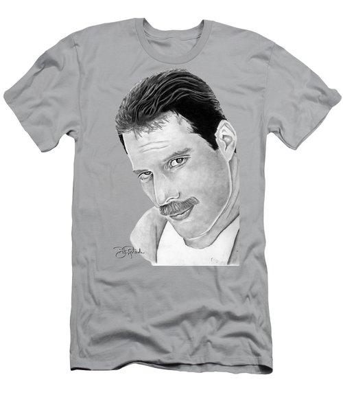 Freddie Mercury Men's T-Shirt (Athletic Fit)