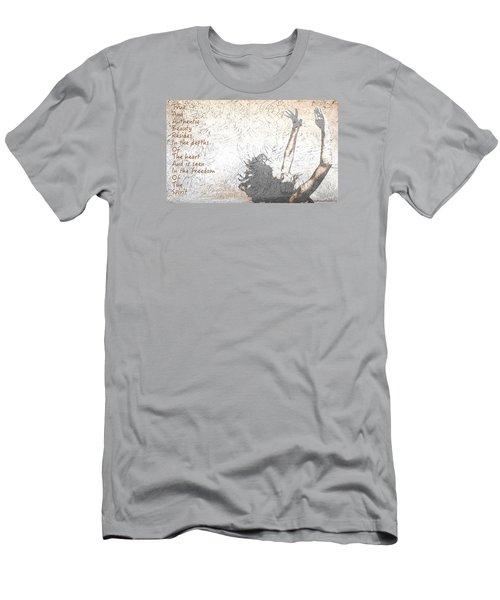 Free Spirit Men's T-Shirt (Slim Fit) by Theresa Marie Johnson