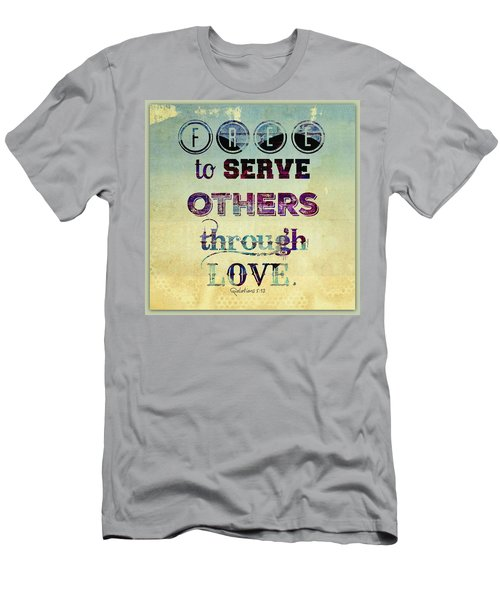 Free To Serve Men's T-Shirt (Athletic Fit)