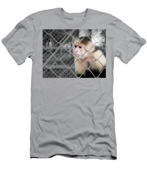 Freedom Not Bigger Cage Men's T-Shirt (Athletic Fit)