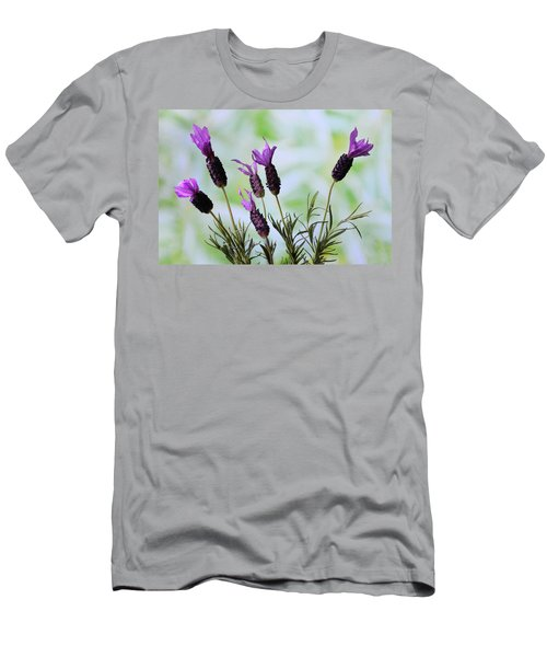 French Lavender Men's T-Shirt (Slim Fit) by Terence Davis