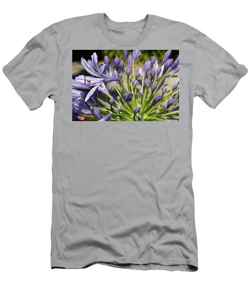 Men's T-Shirt (Slim Fit) featuring the photograph French Quarter Floral by KG Thienemann