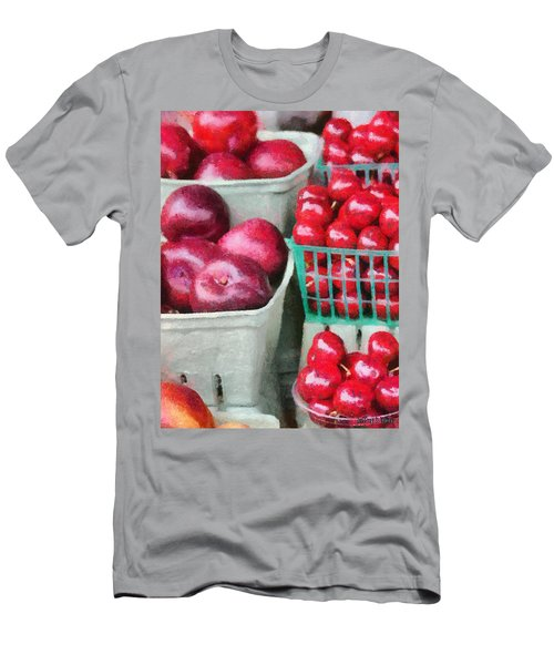 Fresh Market Fruit Men's T-Shirt (Athletic Fit)