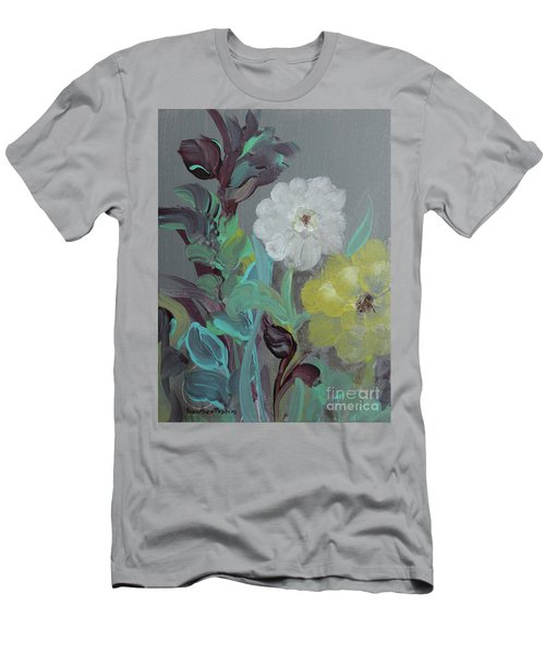 Men's T-Shirt (Athletic Fit) featuring the painting Fresh Start  by Robin Maria Pedrero