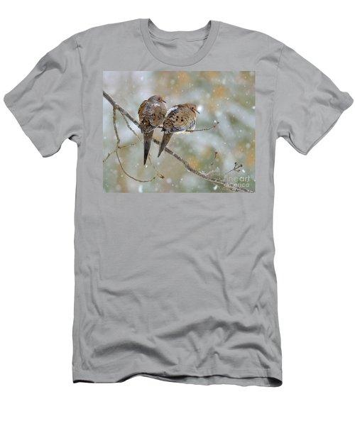 Friends Through The Storm Men's T-Shirt (Athletic Fit)