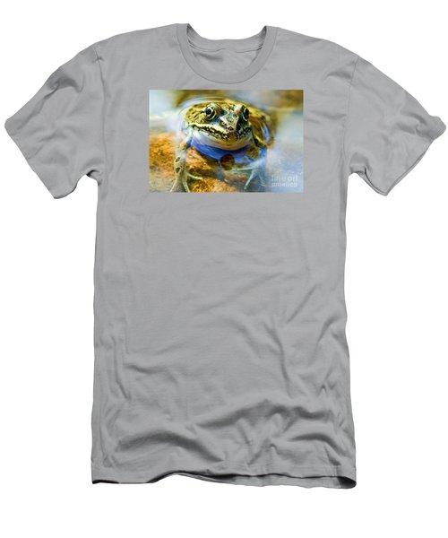 Frog In Pond Men's T-Shirt (Athletic Fit)