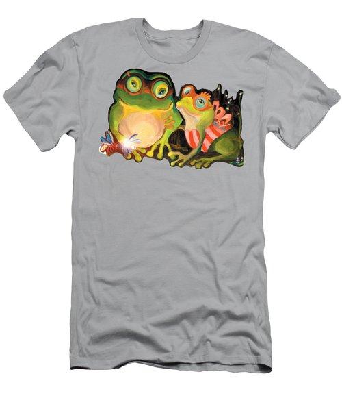 Frogs Transparent Background Men's T-Shirt (Athletic Fit)