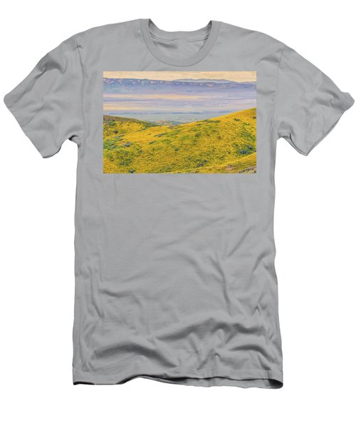 From The Temblor Range To The Caliente Range Men's T-Shirt (Slim Fit) by Marc Crumpler