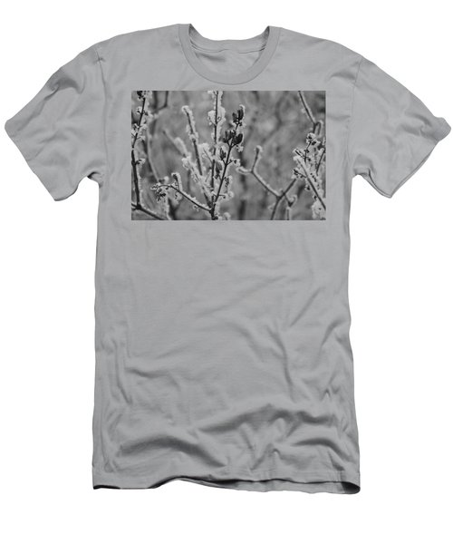 Men's T-Shirt (Athletic Fit) featuring the photograph Frost 5 by Antonio Romero
