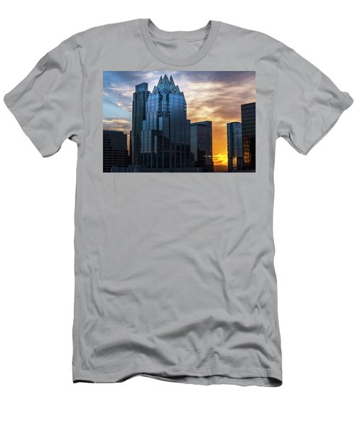Frost Bank Tower Men's T-Shirt (Athletic Fit)
