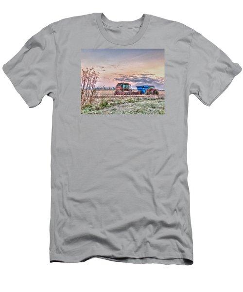 Frosty Farm Morning Men's T-Shirt (Athletic Fit)