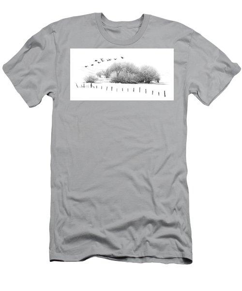 Frosty Flight Men's T-Shirt (Athletic Fit)